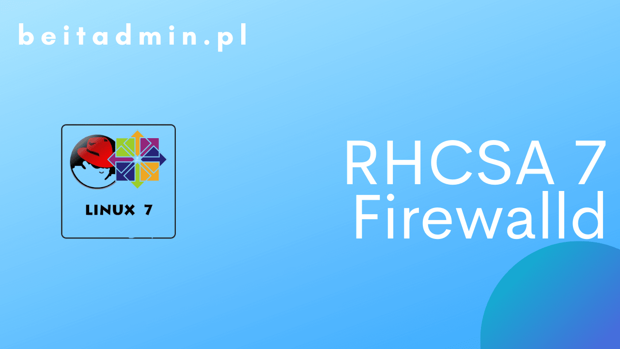RH Centos Firewalld