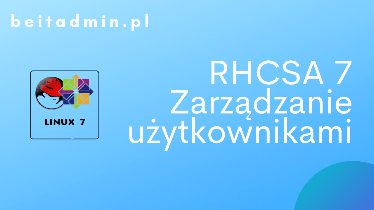 RH Centos Tworzenie usera