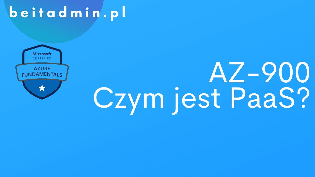Azure AZ-900 Paas
