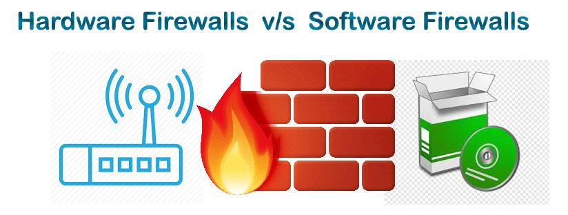 10 różnic pomiędzy Firewallem Sprzętowym a Programowym