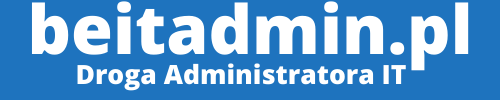 beitadmin.pl – Droga Administrator IT