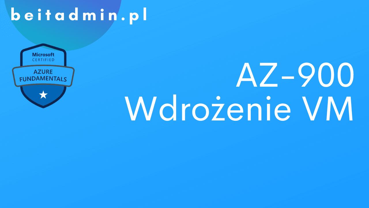Azure AZ-900 VM